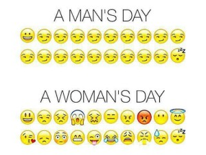 A Man's Day vs. A Woman's Day